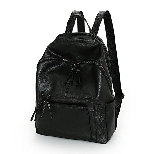 Frauen Taschen/PUWasserdichter Rucksack/ Frauen lässig Rucksack/Einfache Taschen-A A