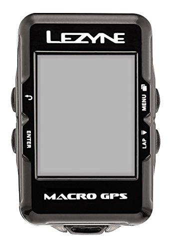 Lezyne Macro GPS Ordenador, 0.074 kilograms, Color Negro, Sin...