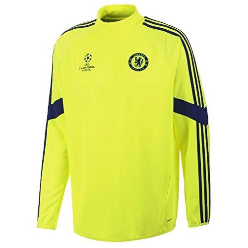 2014-15 Chelsea Adidas EU Training Top (Electricity)