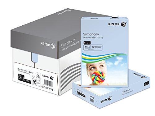 Xerox A380gsm Symphony Druckerpapier Papier Box-Pastell Blau - Xerox-box