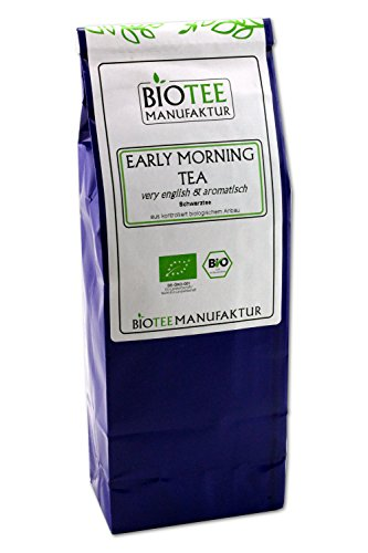 Early Morning Tea – Bio, Schwarzer Tee Lose (1 x 100g)