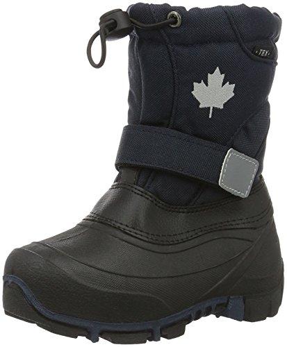 Canadians Jungen stiefel, Blau (830 Navy), 27 EU