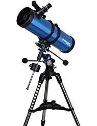 Meade Instruments Polaris 130mm Refractor Azul - Telescopio