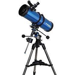 Meade Instruments Polaris 216006 - Telescopio, Reflector Azul, 130mm