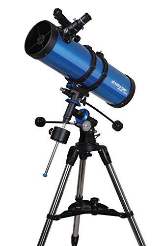 Meade 216004Meade Polaris 114-millimeter Deutsche Äquatoriale Reflektor (blau)