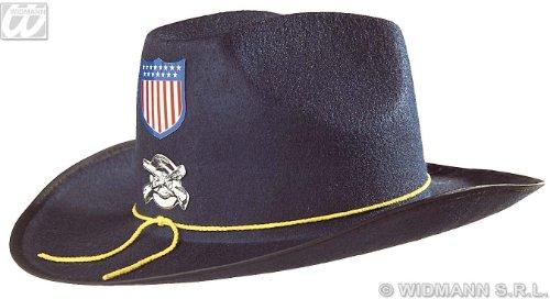 �Kostüm für Erwachsene nordista mit Mantel Filz Hat, Blau, One size (Deutscher Offizier Hut Kostüm)