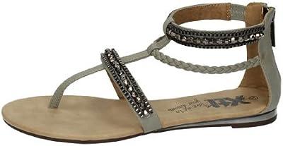 Sandalias moda plana XTI SANDALIAS talla 41 HIELO POLIPIEL