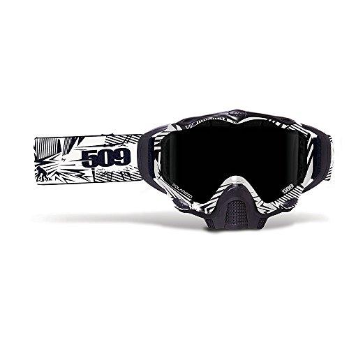 509Sinister X5Snow Schneemobil Brillen Dual Poly Objektiv Anti Nebel und scratch W/perfekte Passform Stützbalken
