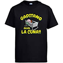 Diver Camisetas Camiseta Gaditano Desde la Cuna Cádiz fútbol