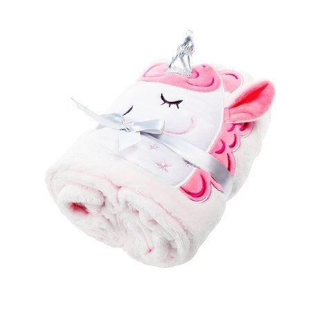 Manta para bebé con unicornio