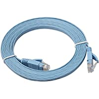 Balai Flat Cat6 Gigabit Snagless cavo RJ45 Ethernet Network