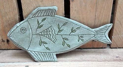 """Kleiner Oliventeller, Tappasteller\""""Fisch im Grün\"""""""