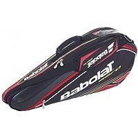 Babolat–Racket Holder X3Aero Line–Bolsa, Negro, 76x 18x 33cm, 45litros, 751040–144