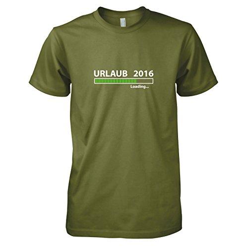 TEXLAB - Urlaub 2016 Loading - Herren T-Shirt Oliv