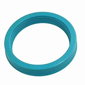 Nach &, sich (TM) 50mm x 60mm x 10mm Metric Polyurethan U32i Einzel Lip Oil Seal