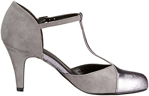 Another Pair of Shoes Patricee1, Mary Jane Femme Gris (Pewter/Grey1804)