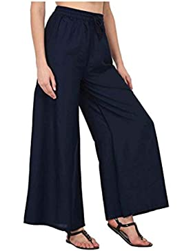 Indian Handicrfats Export Amasree Relaxed Women Blue Trousers