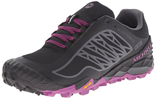 Merrell All Out Terra Ice Wtpf, Chaussures de Trail femme Black/Purple