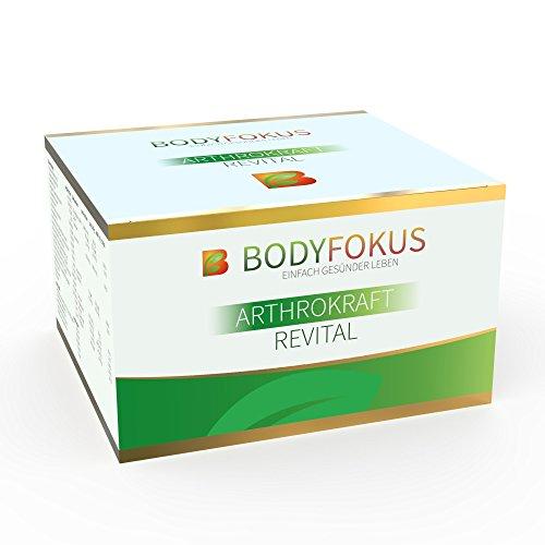 BodyFokus ArthroKraft Revital - Glucosamin + Chondroitin Komplex - 1 Packung (Vitamin Für Arthritis Die Heilung)