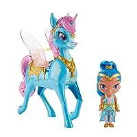 Shimmer & Shine FVF91 Shine and Magical Flying Zahra Corn, Multi-Colour