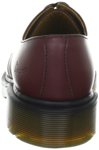 Dr. Martens 1461 Scarpe basse stringate, Unisex, Adulto Rosso (Cherry Red)