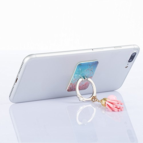 Anneau support de téléphone Universel Phone Ring Holder Grip bague Rosa Schleife rotation de 360 degrés support métal doigts Fingers voiture Stand pour Smartphone Portable Mobile iphone 6 6S 7 Plus X  C