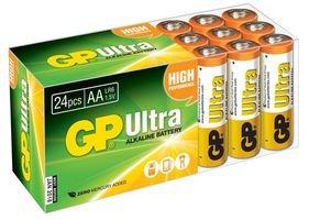 BATTERY, ULTRA ALKALINE AA BULK 24PK GPPCA15AU006 By GP BATTERIES by Best Price Square Gp Ultra Alkaline Batterie