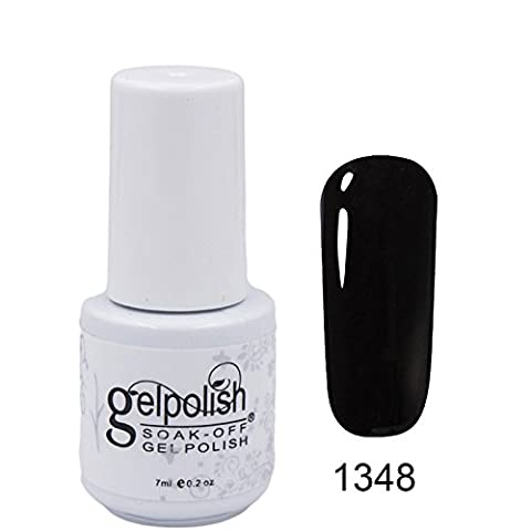 clhvuz Gel-Nagellack Soak-off-UV-Lack, LED-härtender Farblack, Manikürelack-Set 7ml