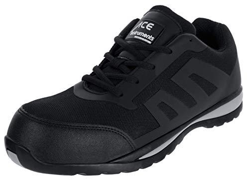 ACE Nero Zapatos Especiales para el Trabajo con Puntera - S1 P - 43