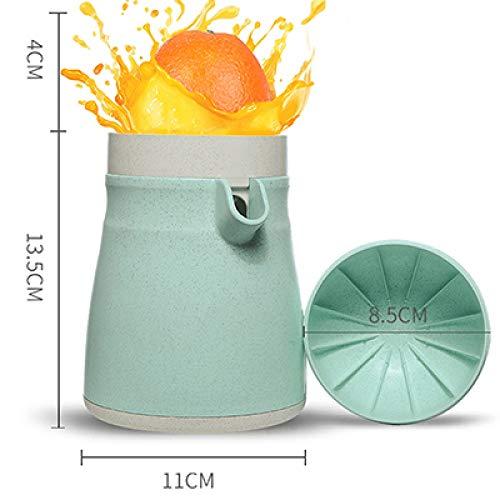 TKHCOLDM Exprimidor Manual Exprimidor de Frutas Naranja Limón UVA pera Piña Portátil Licuadora Extrusora Electrodomésticos - JGE13