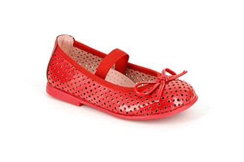 Pablosky Unisex, bambini 314269 Ballerine con lacci Rosso Size: 33