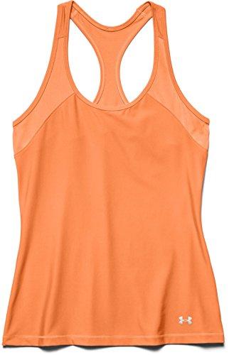 Under Armour - 1253672, Canottiera da donna, arancione (orange), Small
