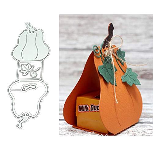 Lovejoy Store troqueles para hacer tarjetas | Halloween calabaza Candy caja de...