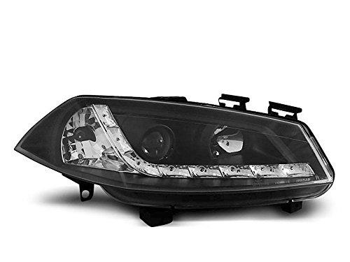 Shop Import Paire de Feux phares Megane 2 02-05 Daylight LED Noir (E16)