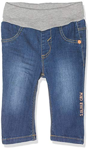 s.Oliver Baby-Jungen 65.904.71.2039 Jeans, Blau (Blue Denim Stretch 56z7), (Herstellergröße: 68)