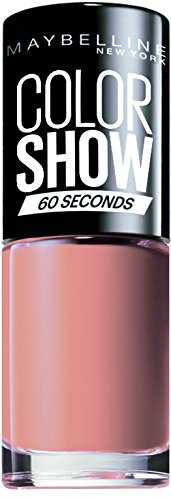 Maybelline new york color show smalto asciugatura rapida, 01 go bare