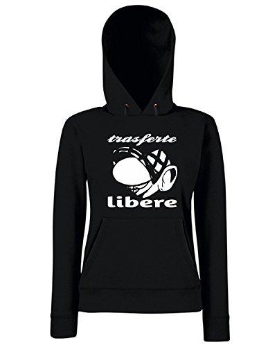 T-Shirtshock - Sweats a capuche Femme TUM0227 ultras liberi Noir