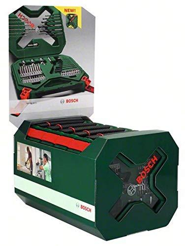 Preisvergleich Produktbild Bosch 2607010617 drill- / Schraube Set X-Line 60 PCS,  grau