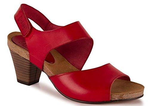 Chamby - Sandalias de Vestir de Cuero para Mujer