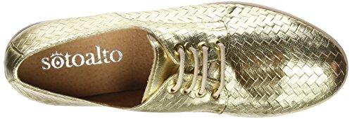 Sotoalto Damen Me058087r1 Schnürhalbschuhe Gold