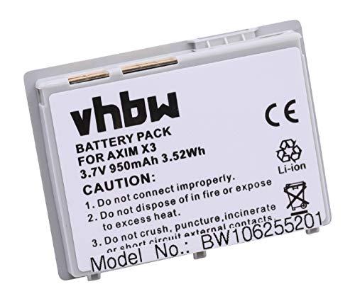 vhbw Batterie LI-ION 950mAh Compatible pour Dell Axim X3 / X3i / X30 / X30i comme X1111, 310-4268