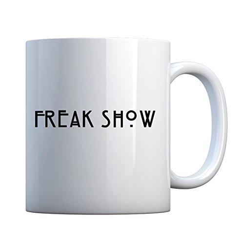 Indica Plateau Freak Show Keramik Geschenk Tasse 11oz ()