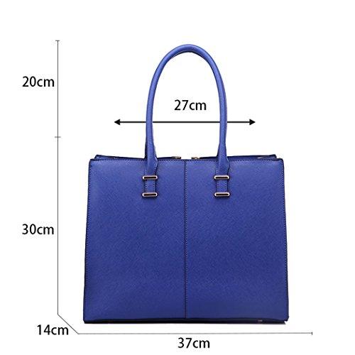 LeahWard® Damen Groß Mode Essener Berühmtheit Tragetaschen Damen Qualität Schnell verkaufend Modisch Handtaschen CWS00319B CWS00319C CWS00319 CWS00319 Lila