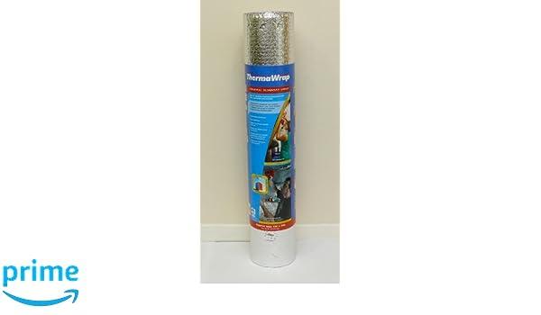 Thermawrap Mat/ériau disolation /à usage g/én/éral pour murs et sols Pose facile 1 500 mm x 7,5 m x 3,77 mm