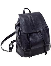 Sannysis - bolsos de mujer con cordón, mochila infantil bolso de cuero