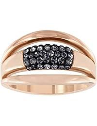 Swarovski Damen-Ring Glas negro - 5124