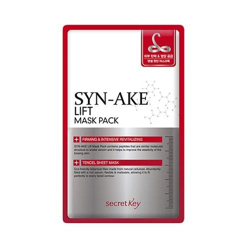 Secret Key - Syn Ake Lift Mask Pack - 3 x Gesichtsmasken / Feuchtigkeitsmaske mit Schlangengift gegen Falten für Frauen und Männer - Antifalten Maske - Liftingmaske - Anti Aging - Kreuzworträtsel Halloween-rätsel