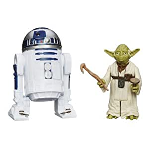 Figurines Star Wars Série Mission : Yoda et R2-D2