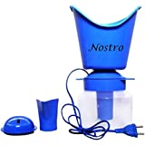 Nostro Naulakha 3 In 1 Vaporizer Steamer Inhaler for Allergy Sinus and Asthma (Blue)