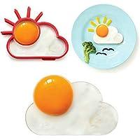 boldion (TM) Colazione creative silicone Sun Cloud uovo stampo uovo fritto Mold pancake Mold Bambini DIY cottura Strumenti Worldwide Negozio